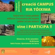 Serra inicia un proyecto de participación para crear el campus Ria-Tóxima