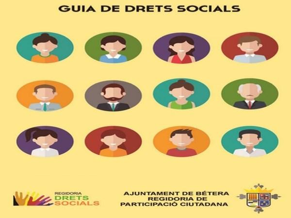 Bétera crea la Guía de Derechos Sociales para informar de las ayudas del ayuntamiento a los ciudadanos