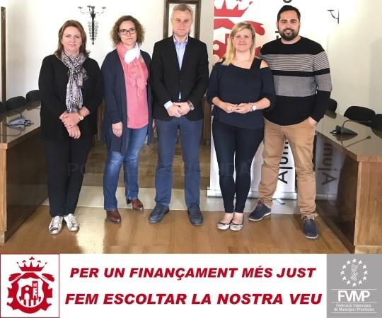 L'Eliana se une a la red de municipios valencianos que reclaman una financiación más justa