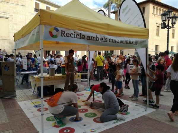 Recicla con los Cinco Sentidos participa el sábado en Manises en la XXXa Trobada de l'Horta Sud de Escoles en Valenciá