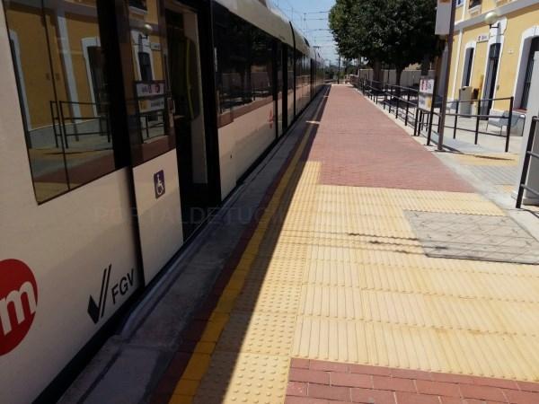 Metrovalencia hace más accesible su estación de Llíria