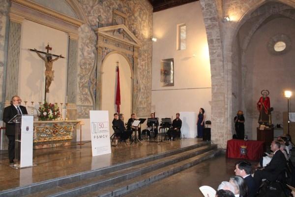La Federación de Sociedades Musicales de la Comunidad Valenciana homenajea en Llíria a las entidades responsables de su fundación