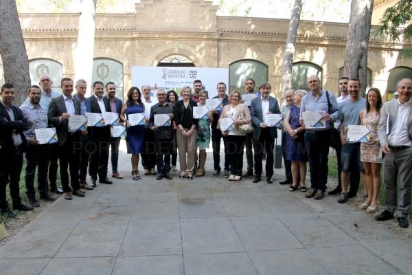 Riba-roja premiada por su trabajo en favor de la accesibilidad en el municipio y la movilidad sostenible