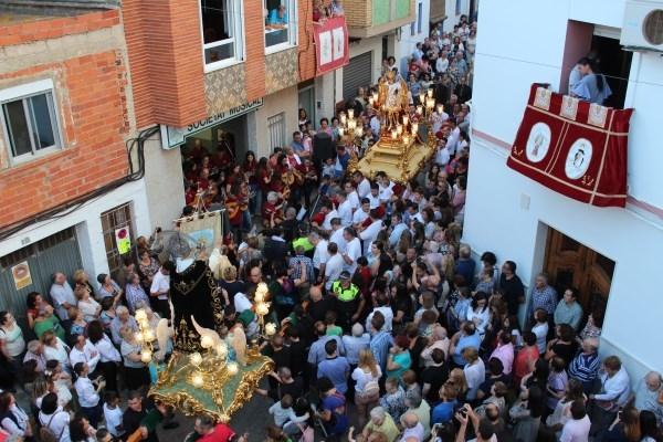Llíria celebra la Baixà de Sant Miquel en la víspera del día grande de sus fiestas patronales