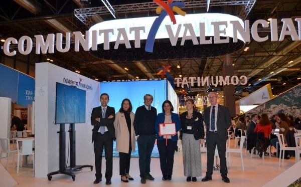 Ifema premia el diseño del estand de la Comunitat Valenciana en Fitur 2018
