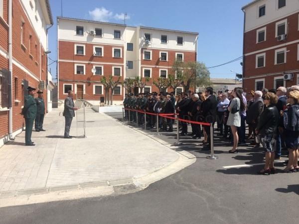 La sociedad liriana rinde homenaje al capitán de la Guardia Civil Celestino de la Vega