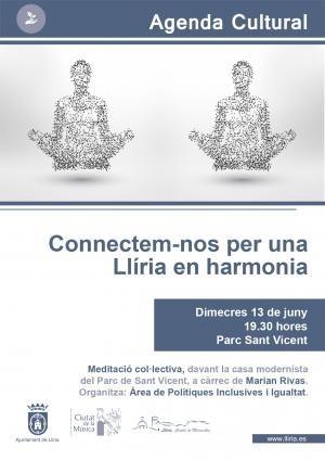 Llíria promueve la práctica de la meditación colectiva