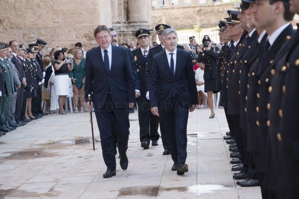 La Generalitat Valenciana condecora a la Policía Local de Bétera por su trabajo al servicio de los ciudadanos