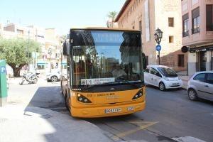 Se incrementa el número de usuarios del transporte urbano de Llíria