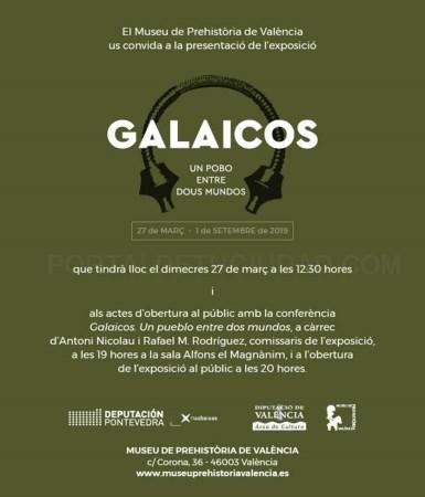 El Museu de Prehistòria de València presenta la muestra temporal 'Galaicos. Un pobo entre dous mundos'