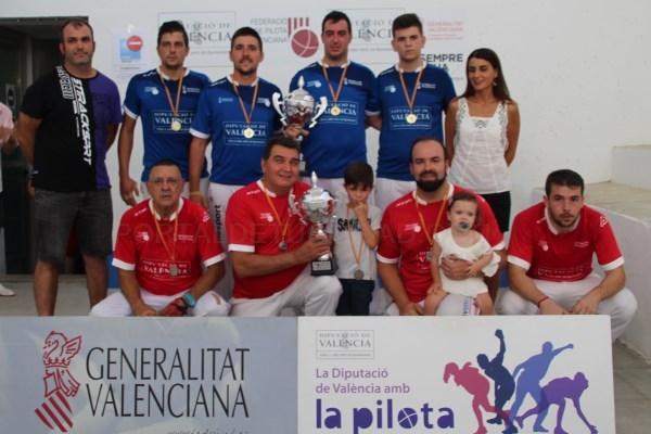 Riba-Roja, Torrent, Alberic, Moixent Y Xilxes Completan El Cuadro De Honor Del Trofeu D'Estiu