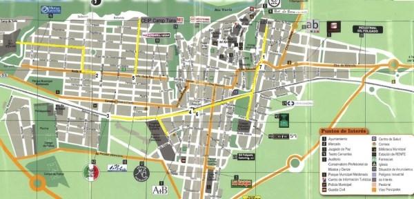 Riba-roja proyecta siete itinerarios urbanos señalizados para ir de forma segura al colegio