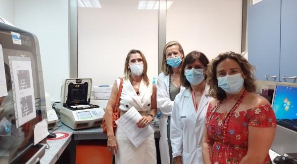 El departamento de salud Arnau de Vilanova-Llíria duplica su capacidad para hacer tests PCR