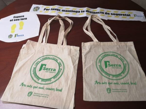 Serra fica en marxa una campanya de suport al comerç local