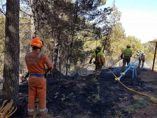 Náquera, pionera en la incorporación de un Plan Local de Prevención de Incendios Forestales ambicioso en la Sierra Calderona
