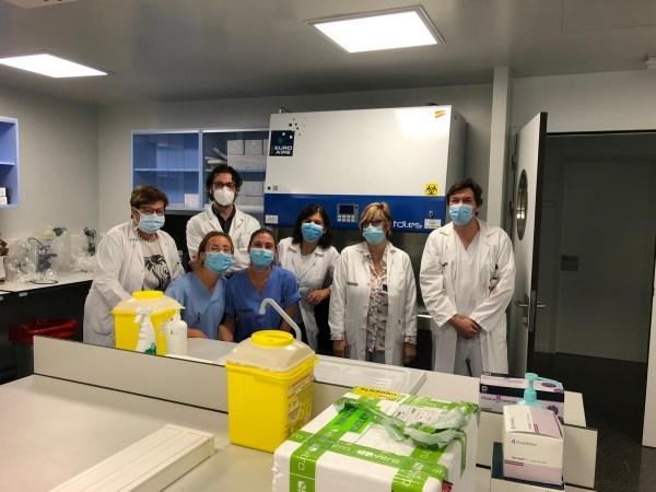 El Hospital de Llíria inaugura la Unidad de Microbiología y abre un punto autocovid