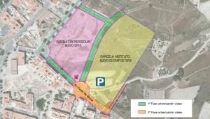 El Ayuntamiento de Llíria inicia el lunes las obras de urbanización de los viales de acceso al nuevo instituto y el colegio de Mura