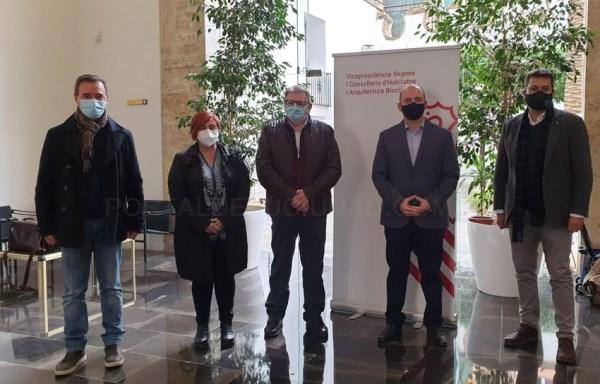 Riba-roja trabajará de forma coordinada con la Sareb y la Generalitat la compra de vivienda pública en el municipio