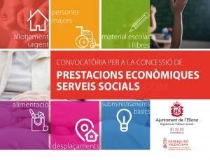 Abierta la convocatoria de ayudas de Emergencia Social 2021 en l'Eliana