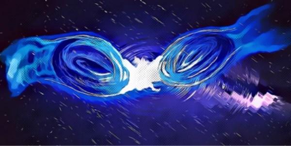 Una investigació de la  Universitat de València estudia si una fusió d'estrelles de bosons va causar la col·lisió de forats negres