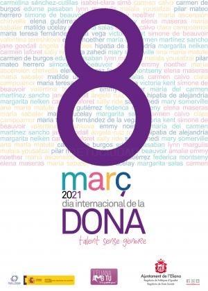 L'Eliana celebrará el Día de la Mujer 2021 online