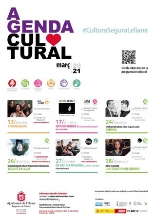 La actividad cultural en l'Eliana vuelve a partir del 13 de marzo