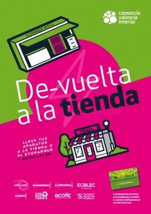 La campaña para incentivar la recogida de pequeños aparatos eléctricos del CVI llega este jueves a Llíria