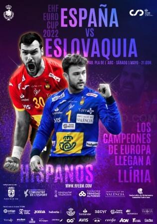 Llíria acollirà el partit de 'Los Hispanos' davant Eslovàquia del pròxim 1 de maig