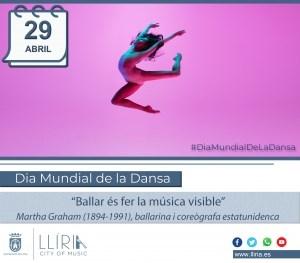 Llíria celebra bailando el Día Internacional de la Danza
