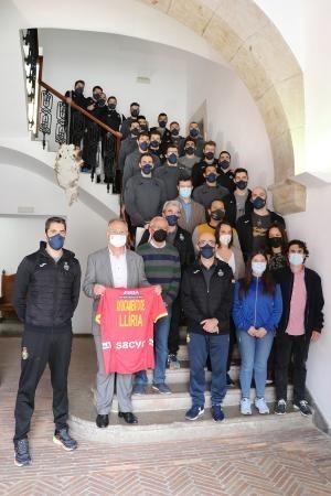 El Ayuntamiento de Llíria ofrece una recepción a 'Los Hispanos'
