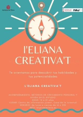 El Instituto de la Juventud hace un reconocimiento al proyecto 'l'Eliana Creativa't'