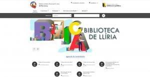 La Red de Bibliotecas Públicas de Llíria estrena nueva página web