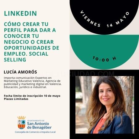 Nuevo taller sobre LinkedIn el próximo 14 de mayo, dentro del ciclo de talleres online sobre emprendimiento