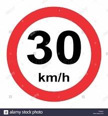 En vigor la limitación de velocidad a 30 km/h en prácticamente todo el municipio de l'Eliana