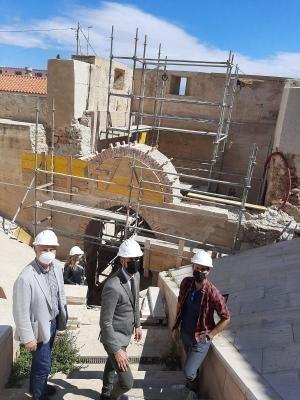 Los trabajos de rehabilitación del Pont del Vidre de Lliria finalizarán este verano