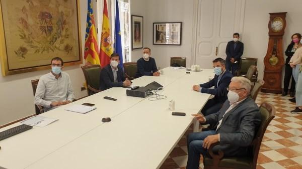 La Diputació ofereix una solució viària als embossos en els accessos de l'A3 per Riba-roja per a afavorir la zona industrial i al Residencial la Reva