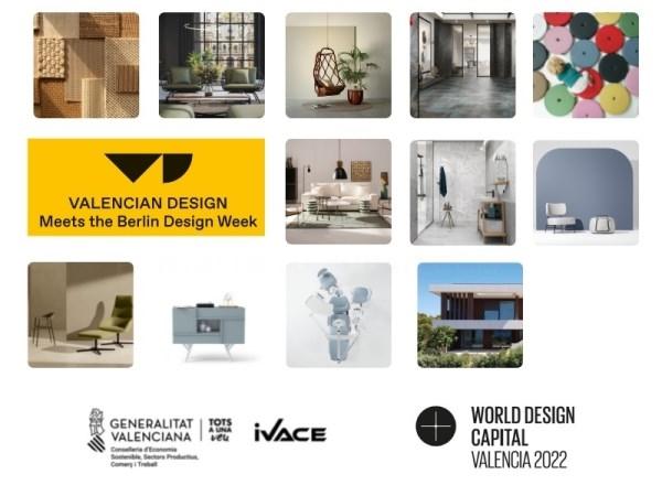 Doce empresas valencianas de hábitat representan el diseño de la Comunitat Valenciana en la Berlin Design Week