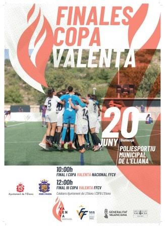 L'Eliana serà seu de les finals de la Copa Valenta aquest diumenge