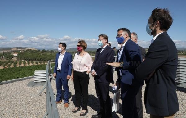 Ximo Puig destaca Les Carrases de Llíria como 'referencia' de suelo industrial necesario para atraer inversiones que contribuyan al crecimiento