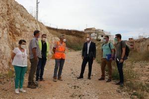 L'Ajuntament de Llíria reprén les obres del carrer Garcilaso dins del seu pla de regeneració urbana