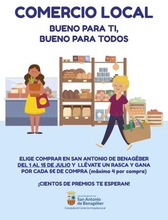 San Antonio de Benagéber lanza una campaña en fomento del comercio local