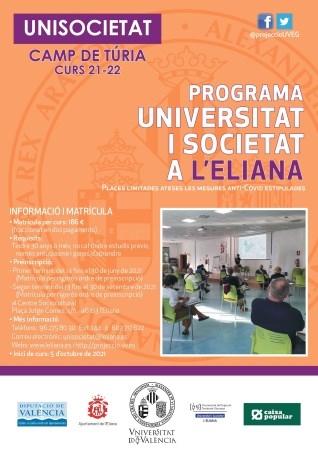 Unisocietat es prepara a l'Eliana per al curs 2021-2022
