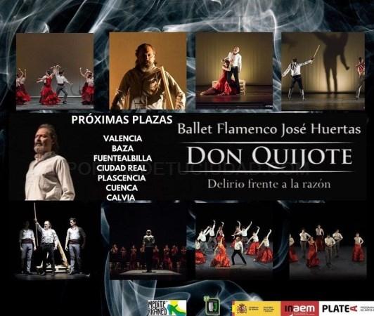 El ballet flamenc de José Huertas porta el seu espectacle El Quixot a l'Olympia del 26 al 29 d'agost
