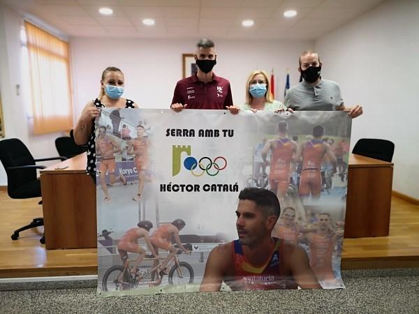 Serra desitja sort a Héctor Catalá que participarà al Jocs  Paralímpics de Tòkio