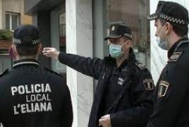 La Policía Local vuelve a evitar la ocupación de una vivienda en l'Eliana