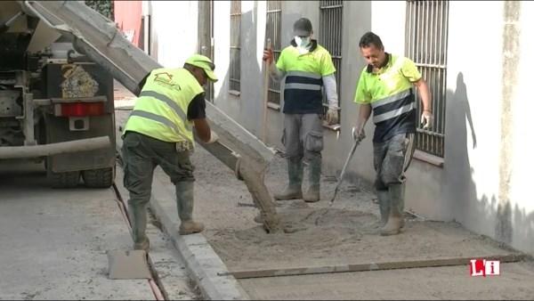 Las obras de mejora del barrio de Les Casetes de l'Eliana avanzan con rapidez