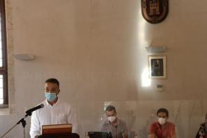 Paco Gorrea toma posesión del cargo de concejal del Ayuntamiento de Llíria