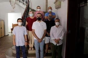El Ayuntamiento de Llíria ofrece una recepción al director y compositor Saúl Gómez
