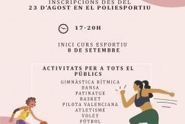 L'Eliana retoma la actividad deportiva en septiembre