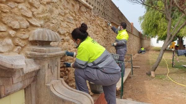 Riba-roja rep 482.716 euros per a la posada en marxa d'un nou taller d'ocupació per a la millora del Parc Municipal Maldonado